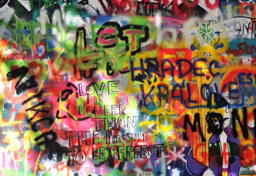 Prague mur John Lennon