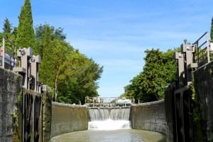 Canal du Midi écluse