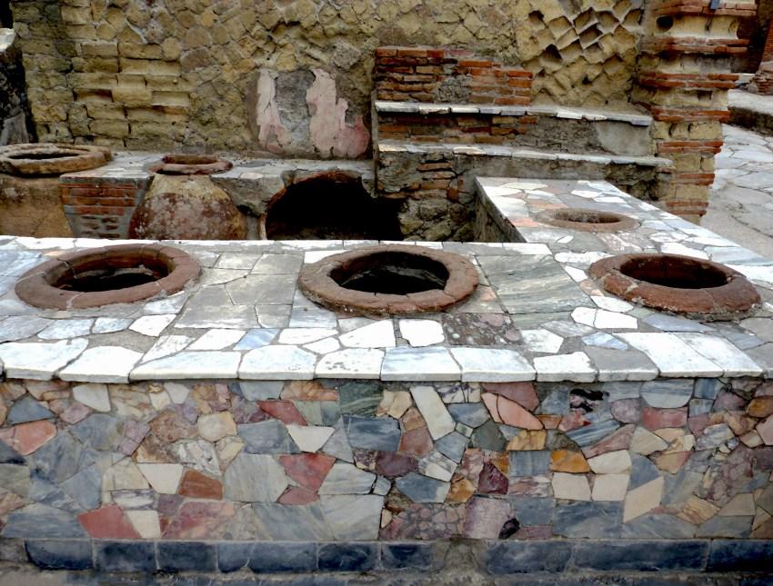 Herculanum vestiges