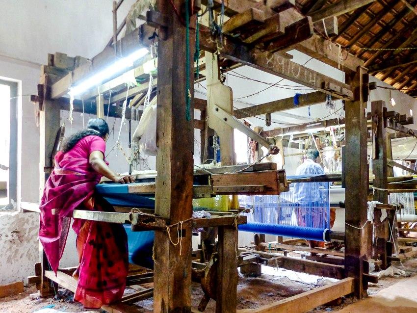 Kannur atelier tissage