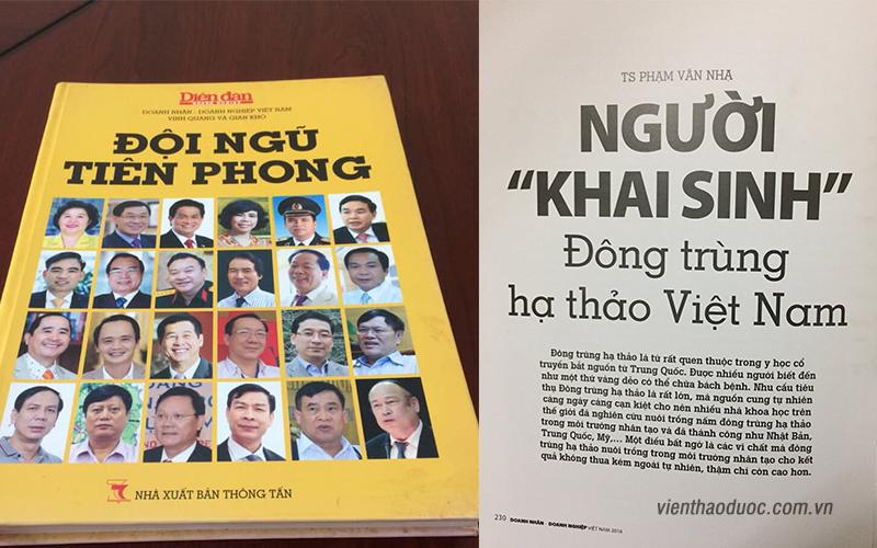 Tiến sĩ Phạm Văn Nhạ - người khai sinh đông trùng hạ thảo việt nam