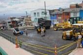 """Con jornada de """"Pica y Pala"""" se recuperó vía en San Cristóbal"""
