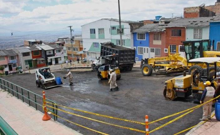 Con jornada de «Pica y Pala» se recuperó vía en San Cristóbal
