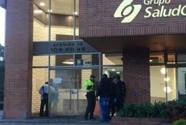 Ataque con petardo a sede de Saludcoop, en el norte de la ciudad