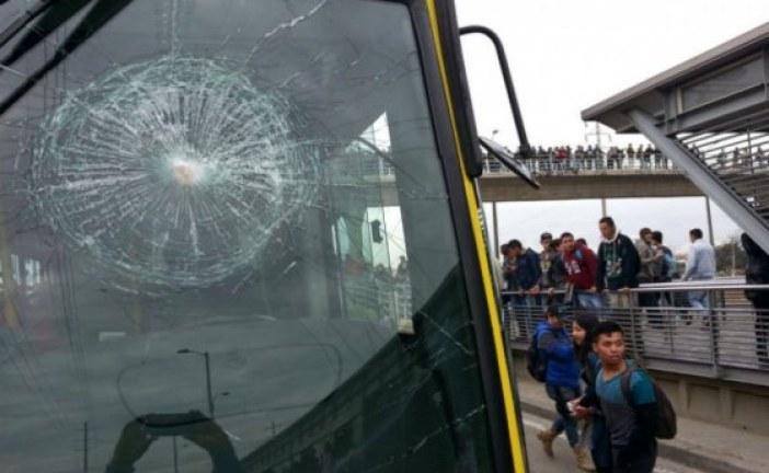 Detenidas siete personas por vandalismo contra TransMilenio en Soacha