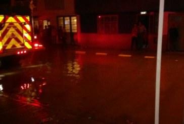 Localidad de Tunjuelito inaugura temporada de inundaciones en Bogotá de 2016