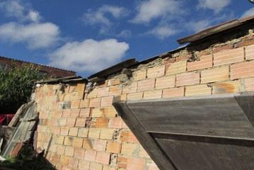 """""""Eso parecía que se fuera a acabar el mundo"""": vecino damnificado del ventarrón en Ramajal"""