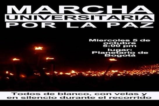 Marcha universitaria por la paz –  Marcha del silencio