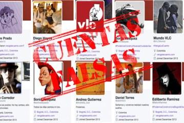 Twitter: una policromía de cuentas falsas