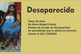 Niña desaparecida en Puente Aranda