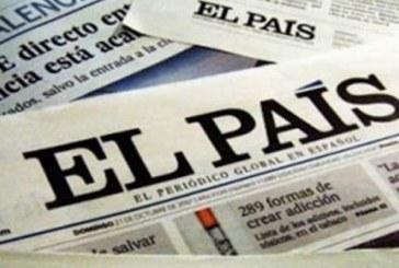La revocatoria ya es noticia en España, articulo del diario El País