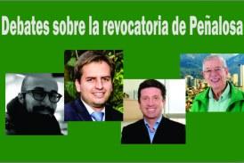 Debates sobre la revocatoria de Peñalosa