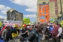 Vendedores ambulantes marchan contra Peñalosa