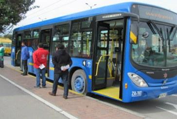Cambio de horario de rutas urbanas del SITP por temporada de vacaciones