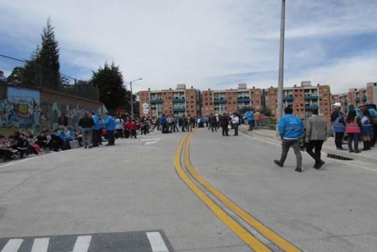Administración Distrital entrega rehabilitada la vía frente a San Jerónimo del Yuste