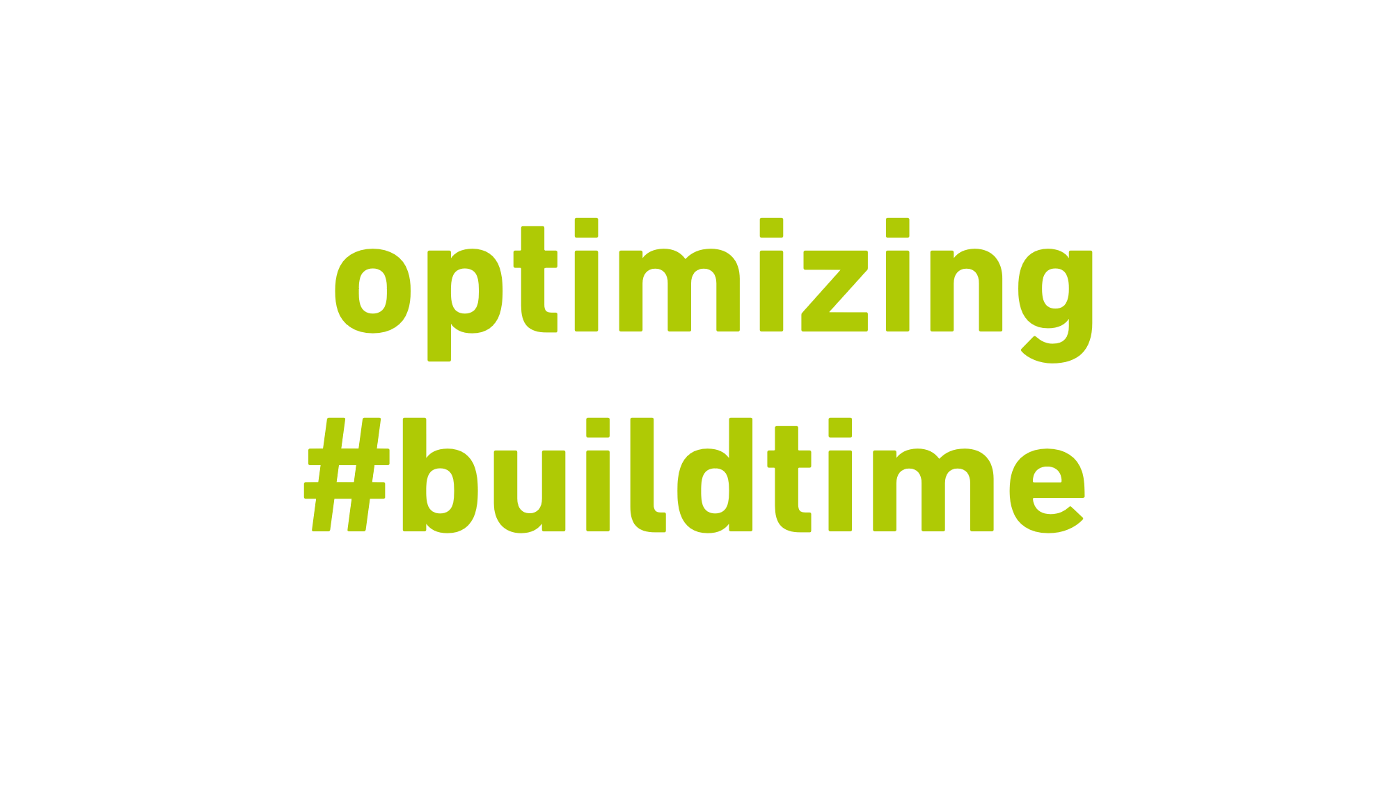 Optimizing our build times with gitlab on AWS