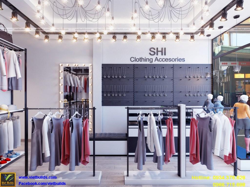 chuyên thiết kế nội thất cửa hàng