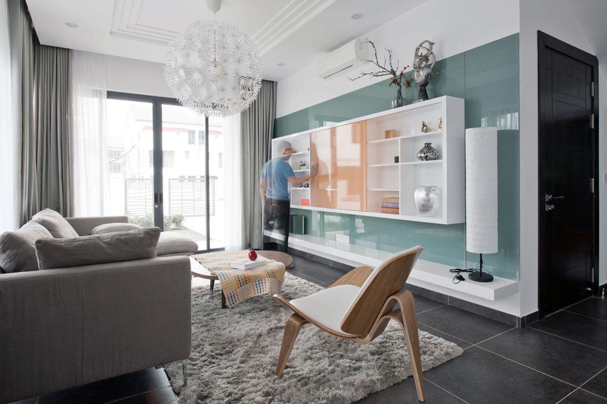 Thiết kế nội thất biệt thự song lập