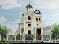 Giới thiệu mẫu thiết kế lâu đài 3 tầng (CĐT: Anh Vỹ - Bắc Ninh)