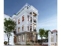 Mẫu thiết kế biệt thự 3 tầng kiểu Tân Cổ Điển (CĐT: Anh Toàn - Thái Nguyên)