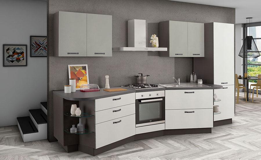 Rộng 3m - đủ cho một căn nhà bếp NHỎ hiện đại - TIỆN NGHI