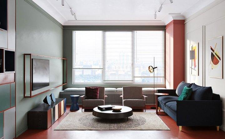 thiết kế nội thất chung cư 55m2