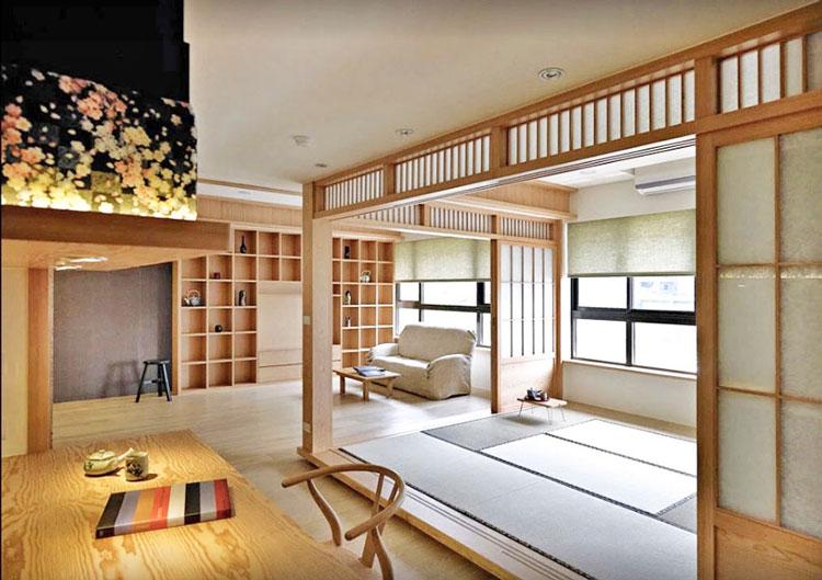 Tính năng đồ nội thất theo phong cách Nhật Bản