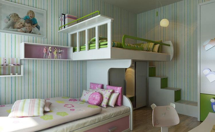 Thiết kế nội thất chung cư HH2A Linh Đàm
