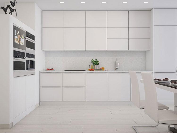 Phòng bếptrongthiết kế nội thất chung cư Mulberry Lane cao cấp