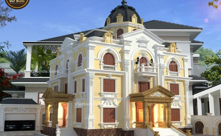 Mẫu biệt thự lâu đài đẹp tại Quảng Trị BT16069