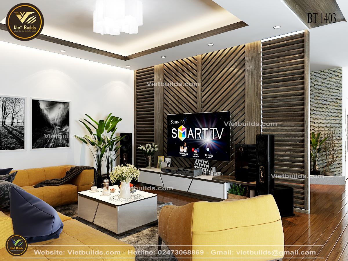 Mẫu thiết kế nội thất hiện đại ĐẸP Sang Trọng NT1403