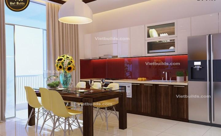 Mẫu thiết kế nội thất hiện đại ở Hà Nội NT1400
