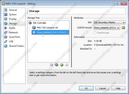 MAC-OSX-04: Đã add xong DVD cài đặt