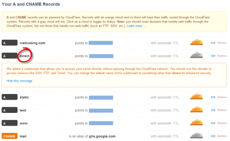 Chỉnh sửa cấu hình DNS nếu chưa đúng