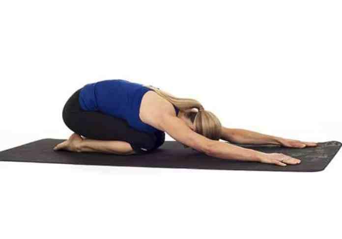 bài tập yoga giảm cân trước khi đi ngủ
