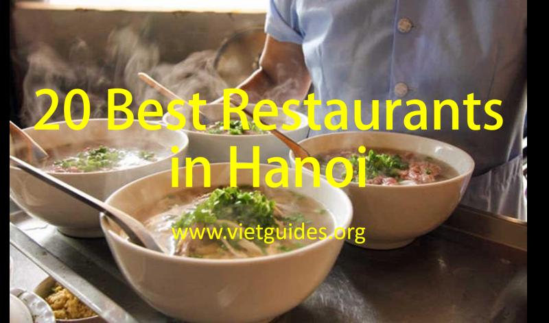Hanoi food guides