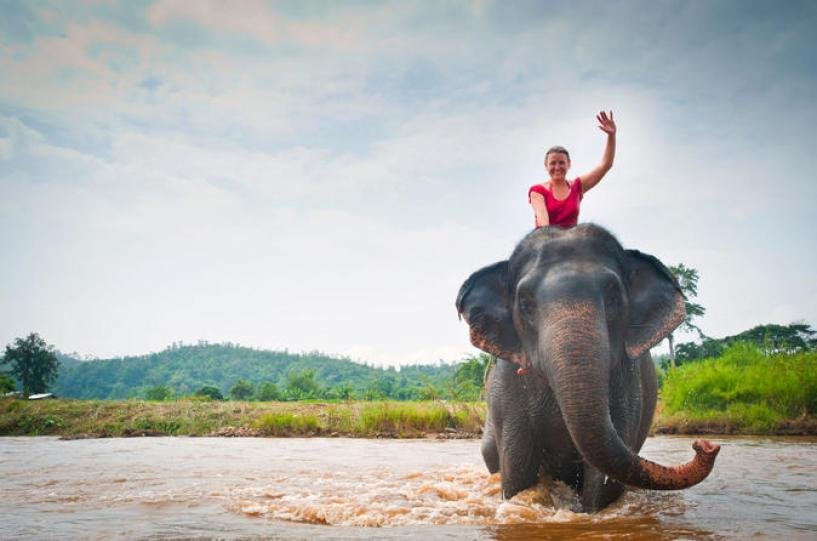 LUANG PRABANG ELEPHANT RIDING AND HOMESTAY TOUR