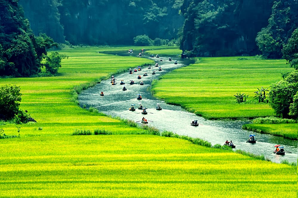 HANOI GROUP TOUR TO HOA LU AND TAM COC
