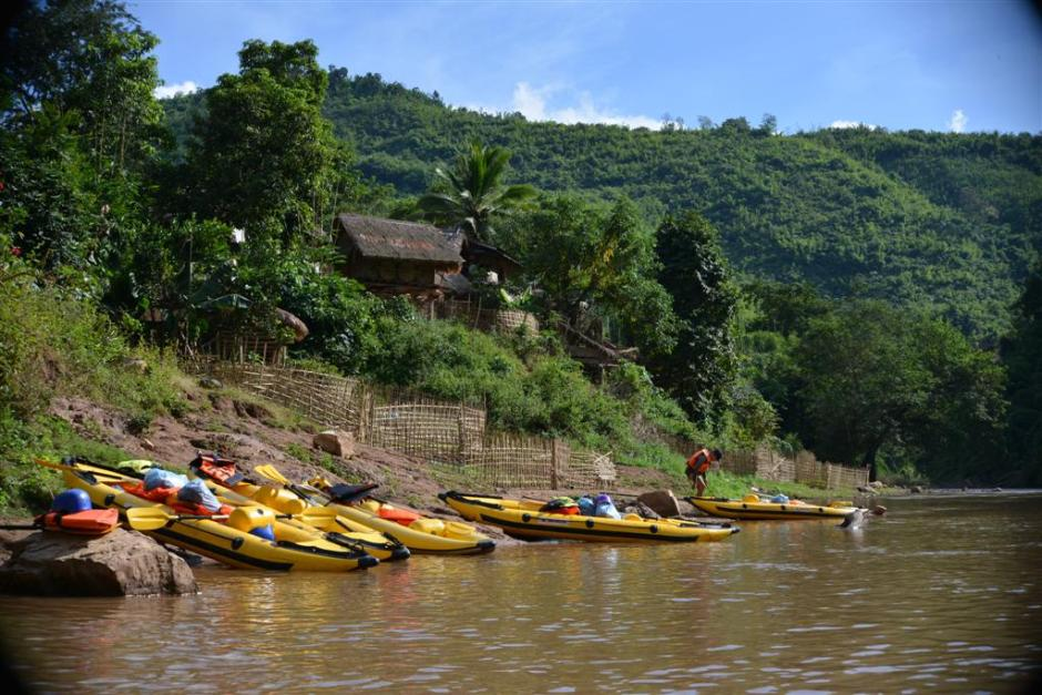 Laos Kayaking Tour: Luang Nam Tha Kayaking Tour For 1 Day