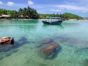 Ong Island in Nha Trang