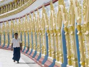 Myanmar Day Tours: MANDALAY MEDITATION TOUR AT SAGAING HILL