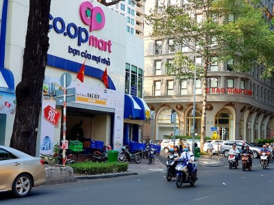 コープマート_グエンディンチュー通り_3区_ホーチミン_Nguyen. Dinh Chieu _Dist3_HCMC_Vietnam