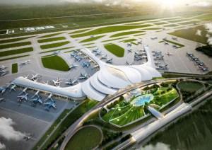 Vietnam-long thanh international airport