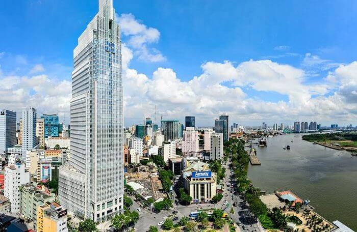 Vietnam-HoChiMinh-Vietcombank Tower