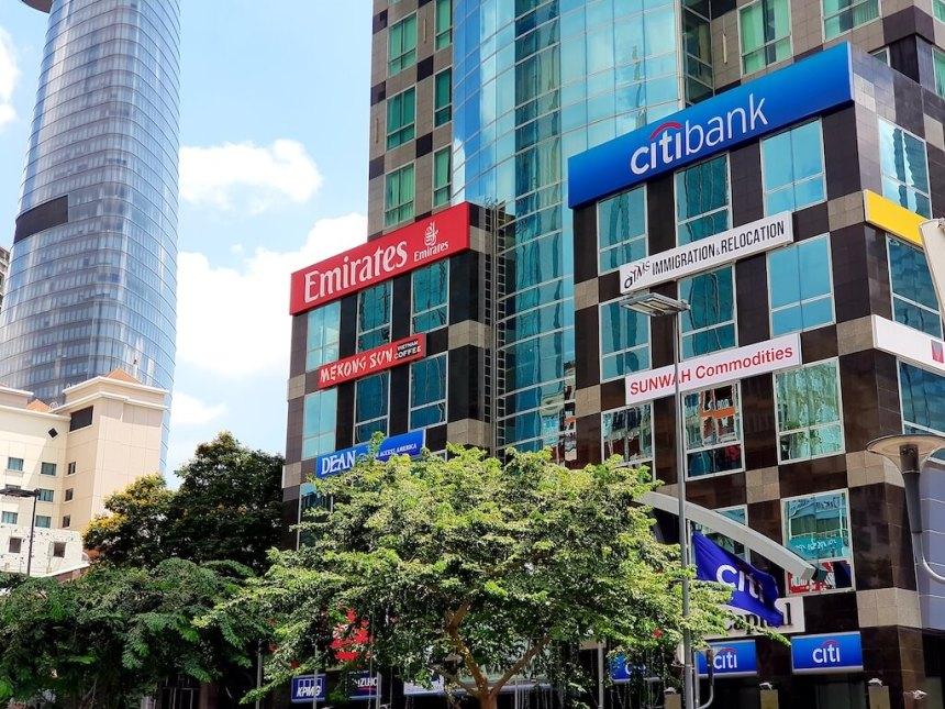CitibankVietnam_D1-HCMC-シティバンク_グエンフエ通り_1区_ホーチミン
