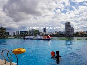 ベトナム_ダナン_ビンパール_Vietnam_Danang_Vinpearl_Condotel_pool