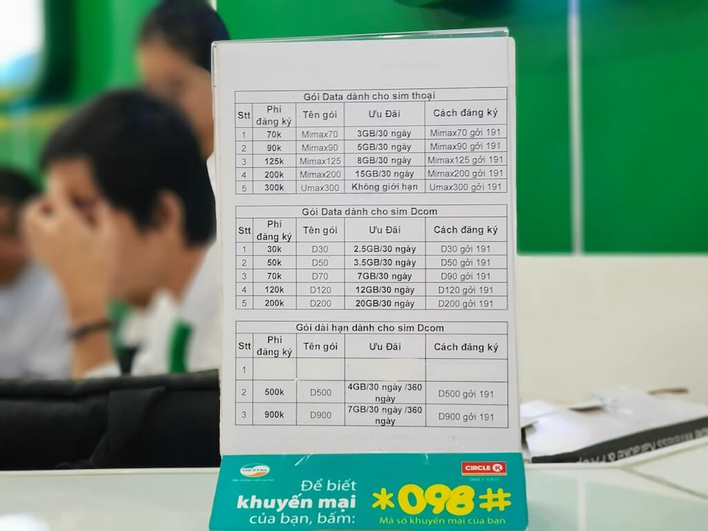 Vietnam_Viettel_Plan_ベトナム_ベトテル_携帯利用料金プラン