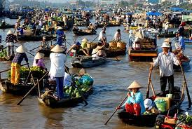 Cai Rang Floating Village - CAI RANG FLOATING VILLAGE