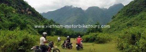 Short Vietnam motorbike tourto Mai Chau
