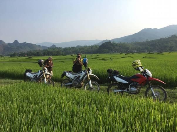 North Vietnam motorbike tour from Hanoi to Pu Luong & Mu Cang Chai